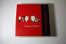 """LE FRANCAIS: Ecouter et Parler - Cote Levy O'Connor - 10 - 33 RPM 7"""" Records- NM"""
