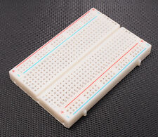Tie Points PCB Test Breadboard Solderless Board 400 Holes Protoboard Contacts