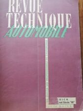 Revue technique BUICK 40 50 60 70 90 + MOTEUR DIESEL CITROEN 45 RTA JUIN 1949