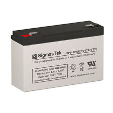 Leoch Battery DJW6-12-T2 Replacement SLA Battery by SigmasTek