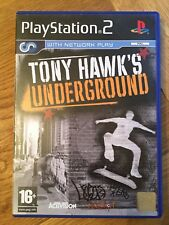 Tony Hawk's Underground (PS2) Playstation two skateboarding