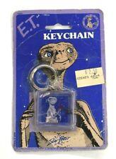 """VTG 1982 ET Keychain Universal Studio Square Keychain NOS 1.5""""x1.5"""" Star Power"""
