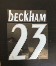 David Beckham # 23 Real Madrid 2005-2006 Authentic Player Issue Name & Number