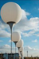 "10 х Riesen weiß latex luftballon 27"" große ballons"