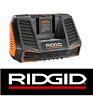 NEW RIDGID 9.6-18 VOLT GEN5X DUAL CHEMISTRY LITHIUM BATTERY CHARGER R840095 18V
