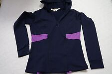 Nordstrom Solow Sport Hoodie Half Zip Pullover Navy Purple Size S