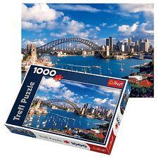 Trefl 1000 piece adulte grand port jackson sydney view floor puzzle nouveau