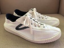 TRETORN NYLITE WHITE CANVAS SNEAKERS WOMENS SIZE 8.5