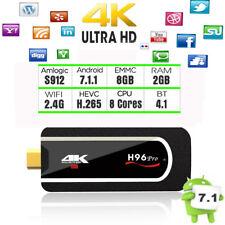 H96 Pro Mini PC Octa Core Android 7.1 TV stick 2GB/8GB Amlogic S912 H.265 TV Box