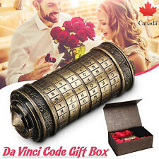 Da Vinci Code Mini Cryptex Romantic Birthday Gifts for Her With Ring Girlfriend