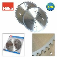 2x Piece HILKA 250mm TCT Circular Saw Blades with 40 Teeth 10 Inch Wood Blade