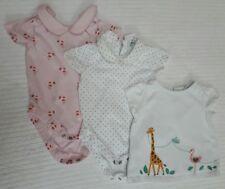 John Lewis 3-6 Months Tops/ Vests. Peter Pan Collar. Pink, dot/spot/bird/giraffe