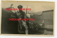 Original WW2 Photo RAF 155 Squadron Spitfire at RAF Tengah Singapore  1946.