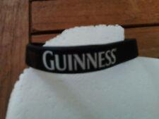 Braccialetto in silicone da polso pubblicitario birra Guinness gadget in gomma