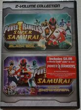 NEW SABAN'S POWER RANGERS SUPER SAMURAI 2-VOLUME COLLECTION DVD FREE SHIPPING