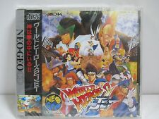 Neo Geo CD -- WORLD HEROES 2 JET -- New & Sealed. JAPAN GAME. SNK.14536