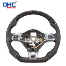 Forged Carbon Fiber Steering Wheel for Golf MK6 GTI Golf R line VW Custom