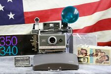 AAA Batteries Polaroid Land Camera 340 BUNDLE TESTED 250 replace Flash, Timer