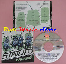 CD STATUTO Zighida' 1992 italy EMI 090 7989772(Xi3) lp mc dvd