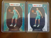 2020-21 Panini NBA Hoops Lamelo Ball Teal Explosion Rookie Card #223 + Base RC