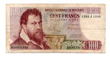 Un billet de 100 francs Banque Nationale de Belgique-Belgique