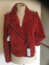 Women's  Leather Jacket,,Large, SL8,NWT,
