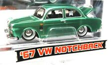 Maisto G-Ridez 1967 VW Notchback Sedan Green Voltswagen Type 3 1500