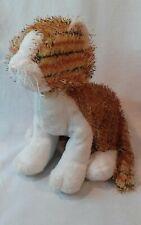 Ganz Webkinz Stuffed Toy, Striped Alley Cat, Orange , White, #HM042, Fuzzy