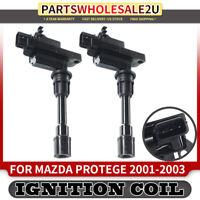 Set of 2 Ignition Coils for Mazda Protege Protege5 01-03 2.0L UF-407 FP8518100C
