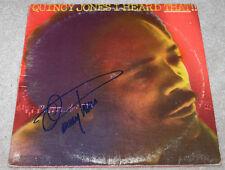 QUINCY JONES SIGNED AUTHENTIC RECORD ALBUM LP VINYL COA MICHAEL JACKSON PRODUCER