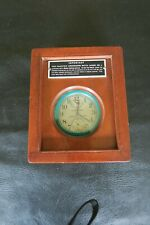 Hamilton 22 deck chronometer, both boxes fine condition, serviced, Beautiful!!!