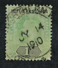 Ckstamps: Gb Northern Nigeria Stamps Collection Scott#25a Used
