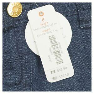 Gymboree Girls Clothes Size 4, 5, 6. 7, 8 Dark Wash Wide Leg Blue Kids Jeans
