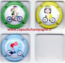 Capsules de champagne Série Piot Charlene TDF feminin  Nouveautés Aout 2021