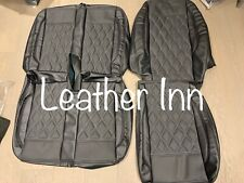 Vw Transporter T5 Seat Covers Front Row Captain Seat 2 Armrest Double Bench