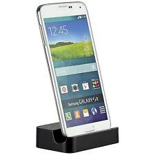 Yemota Pro Dockingstation Ladestation Ladegerät  Dock USB Tisch Samsung S5 Black