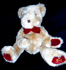 PUPPET TEDDY BEAR made by Strauss - La Senza 1998  (16 INCHES)