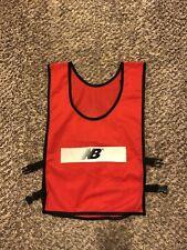 NEW BALANCE RED REFLECTIVE Running  Walking Mesh Vest