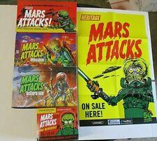 Pencil Mars Attacks Revenge Complete 110 Base Set Color empty box NO HITS