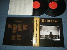 RITCHEI BLACKMORE'S RAINBOW DEEP PURPLE Japan 1986 NM 2-LP+Obi FINAL VINYL