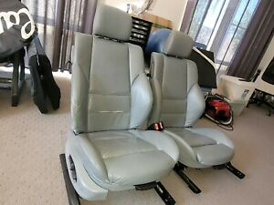BMW E46 Coupe Front and Rear Seats