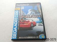 Sega Ages 2500 OutRun Playstation 2 Japanese Import PS2 JP Out Run US Seller B