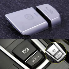Chrome Car Electronic Handbrake AUTO H Button Cover Fit For BMW 5 Series F10 F18