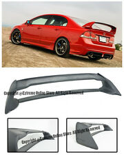 For 06-11 Civic 4Dr Mugen RR Rear Trunk Lip Spoiler Wing ABS Plastic JDM FD2 FA2