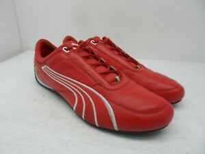 PUMA Men's 'Ferrari' Drift Cat 4 SF Casual Racing Shoes Rosso-Corsa-Red Size 11M