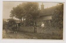 More details for nottinghamshire postcard - elston - early village scene - rp (a6)