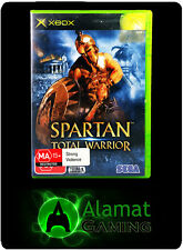 Spartan Total Warrior (Xbox) VGC - Complete - Fast Free Post