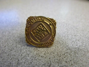 New York Life Executive Council 10k Gold Lapel Pin Yellow Gold with Backstay
