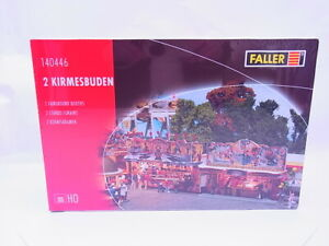 83602 Faller H0 140446 2 Fairground Stalls Funfair Kit New Original Packaging