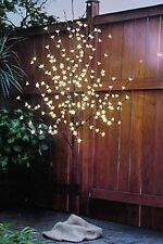 5.5 FT LED LIGHTED LIT CHERRY BLOSSOM TREE INDOOR OUTDOOR DECOR WEDDING 208 LTS
